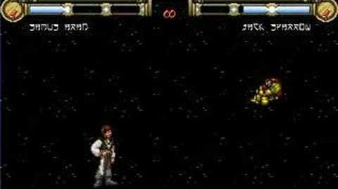 Samus Aran vs Jack Sparrow
