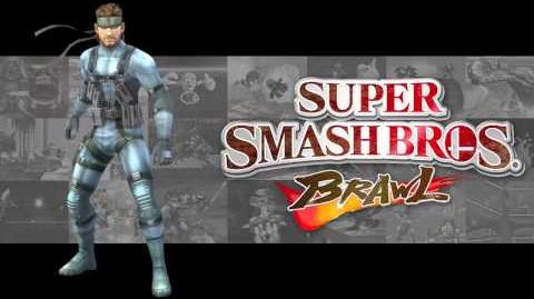 Theme of Solid Snake - Super Smash Bros