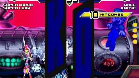 Super Mario & Super Luigi vs Arle & Amitie MUGEN Battle!!!