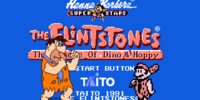 The Flintstones NES Title Screen