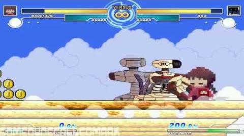 SDCM MUGEN - Madotsuki (Me) vs R.O.B.
