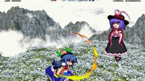 IKUTHD MUGEN Iku Nagae (Yo) vs Tenshi Hinanawi