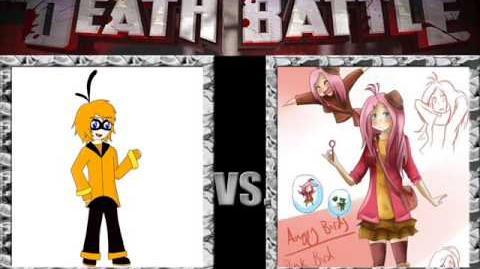 Yoshiarta Vote Human Orange Bird vs Human Pink Bird