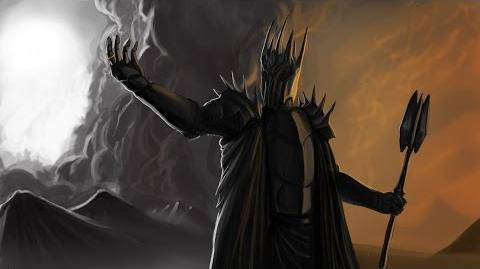 CHAR Lord Sauron by Flávio Camarão