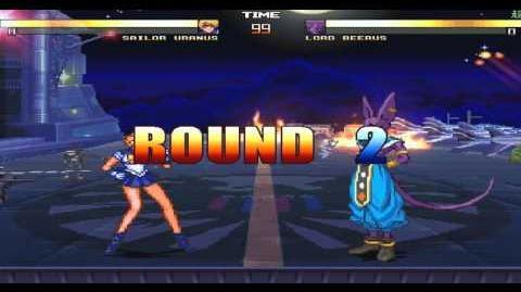 MUGEN Exhibition Sailor Uranus VS Lord Beerus