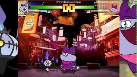 JetG Mugen Shandera vs Chowder
