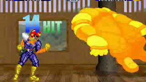 Mugen captain falcon(me) vs juggernaut
