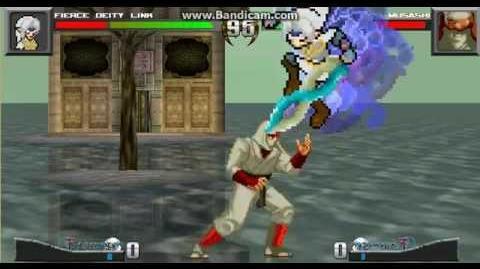 MUGEN Battle 1 Fierce Deity Link vs Jo Musashi