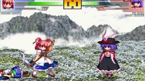 ST64 MUGEN Komachi (me) vs Iku and Tenshi (Ricepigeon Knockoffs)