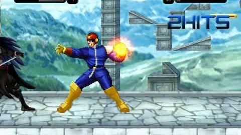 Mugen Battle Sephiroth vs Captain Falcon