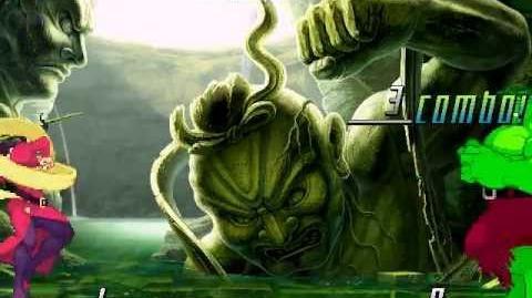 MUGEN Hulk (me) VS Rose