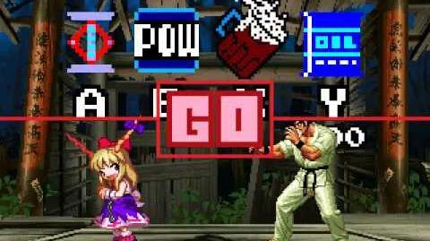 MUGEN Retroville - Retro Suika vs Segata Sanshiro