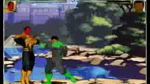 Mugen John Stewart vs Sinestro