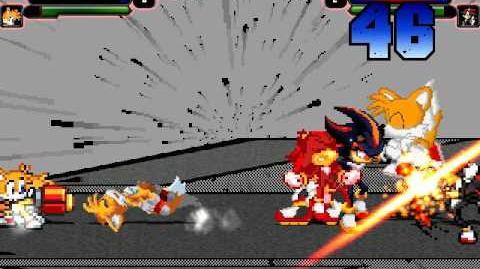 B MUGEN 4 tails vs 4 shadows 4v4