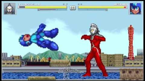 Mattwo's Random MUGEN - Ultraseven vs Mega Man Classic