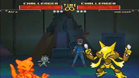 Mugen Pokemon Abra Vs Alakazam