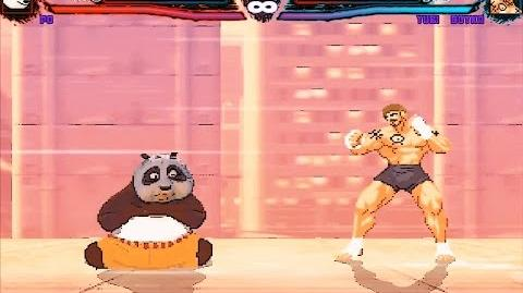 Mugen Po (Kung Fu Panda) Vs Yuri Boyka (Undisputed 2 Scott Adkins) (My Battle)