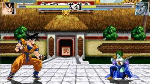 MUGEN Dragon Ball 30th Anniversary- Goku vs Zarbon