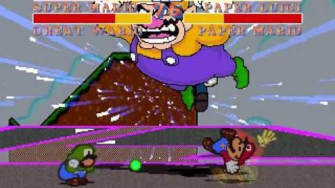 MUGEN Team Mario VS Team Paper Luigi