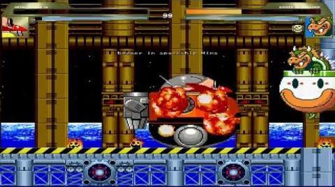 MUGEN Dr Eggman (Death Egg Robot) vs Bowser (Koopa Clown Car)