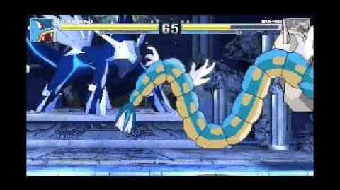 Mugen battle gyarados vs onix