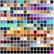 Palette-sample