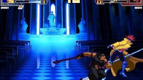Intense Mugen Battle- Gambit vs