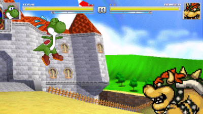 Yoshi is totally in