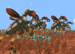 Xenopteran War 4