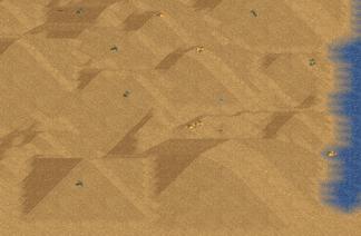 Ishtar desert landscape