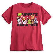 Disney store 2014 t-shirt world tour