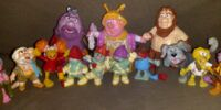 Fraggle Rock PVC figures (Schleich)