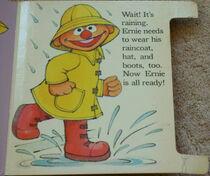 Ernie gets dressed 5