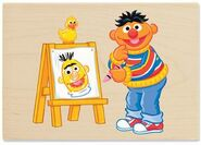 Stampabilities ernie draws bert