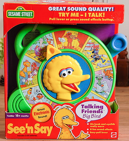 File:Mattel see 'n say talking friends big bird 1998.jpg