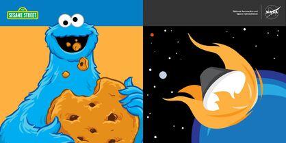 NASAOrion.Facebook July 7 2015 Cookie Monster