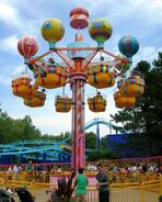 Sesame Place - Balloons