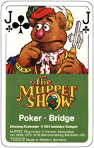 Muppet Show Playing Cards (ASS Altenburger)