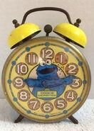 Bradley time cookie monster alarm clock