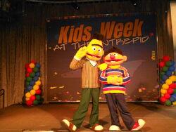 Ernie Bert 2012 Intrepid Museum Kids Week