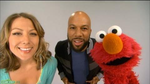 """Sesame Street Common and Colbie Caillat - """"Belly Breathe"""" with Elmo"""