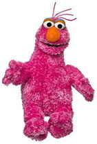 Sesame place plush telly 9