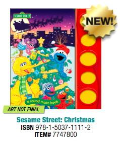 Christmas sound maze book