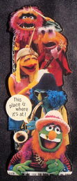 Hallmark 1980 electric mayhem bookmark