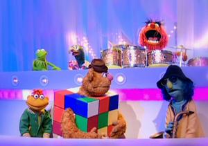 Fozzie Rubik's Cube Muppets TV