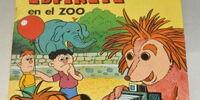 Espinete en el zoo