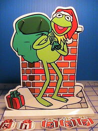 Giftco kermit countdown christmas decoration 2