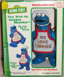 Knickerbocker 1981 play with me cookie monster 1