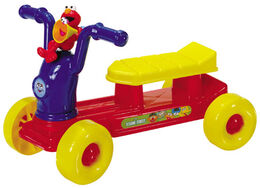 Processed plastic company pp 2003 elmo's zoom-zoom rider ride-on toy 1