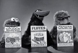 Wheels flutes crowns